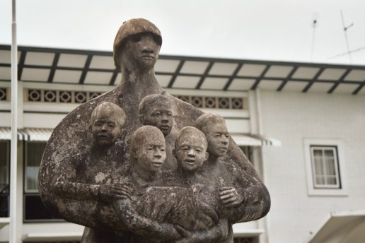 standbeeld familie
