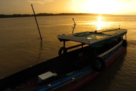 -Best of Suriname - Dolphin sunset2