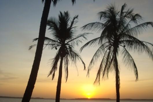 -Best of Suriname - Galibi strand - zonsondergang