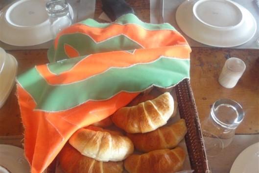 lekker ontbijt in Palumeu