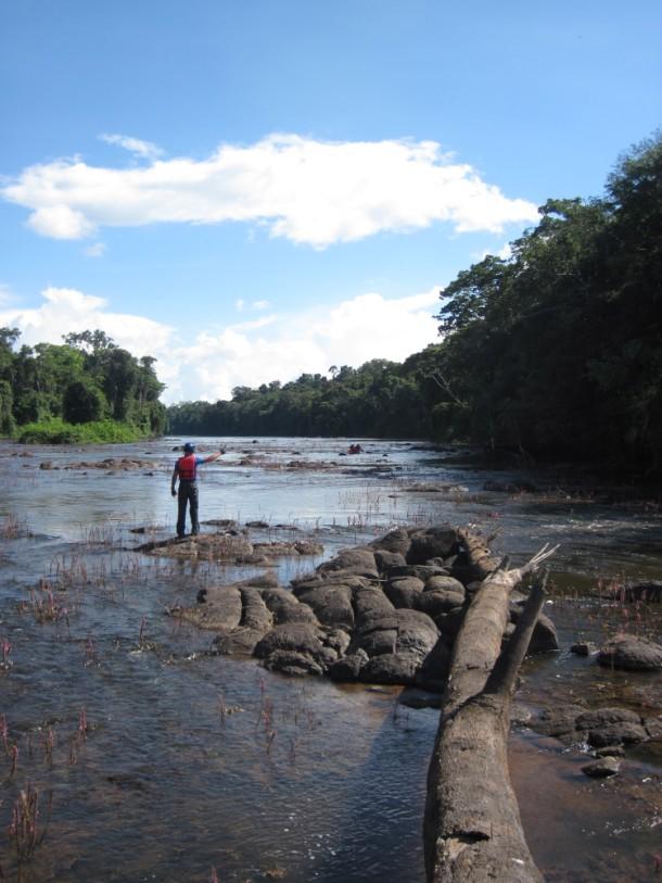 rivier reiziger