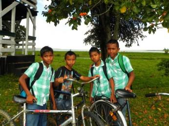 kinderen fiets