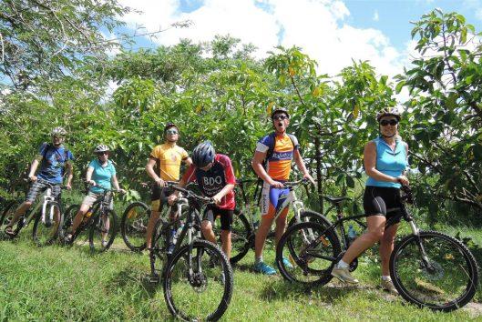 tour fietsen suriname