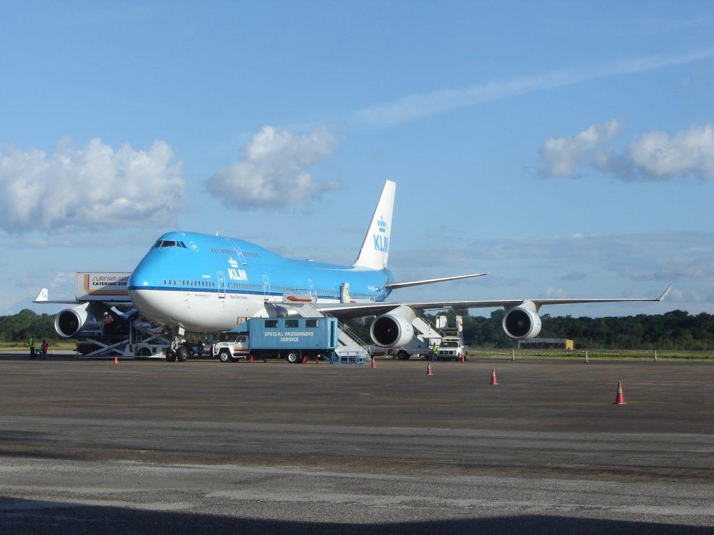 KLM-boeing-747-paramaribo-suriname