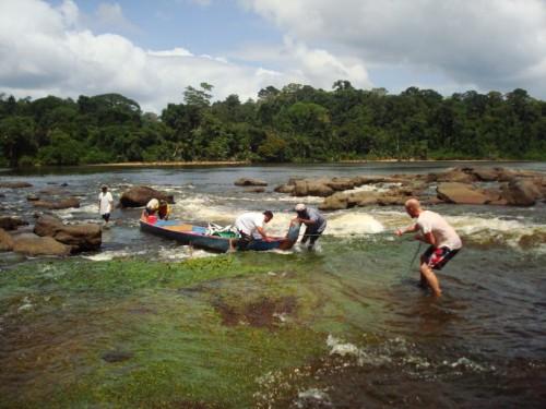 tapanahony rivier