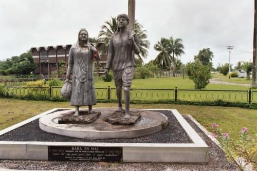 standbeelden baba mai