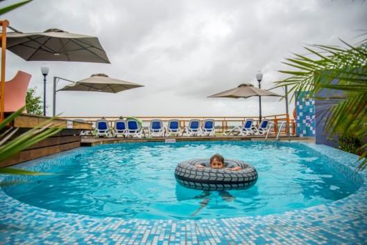 eco resort inn zwembad