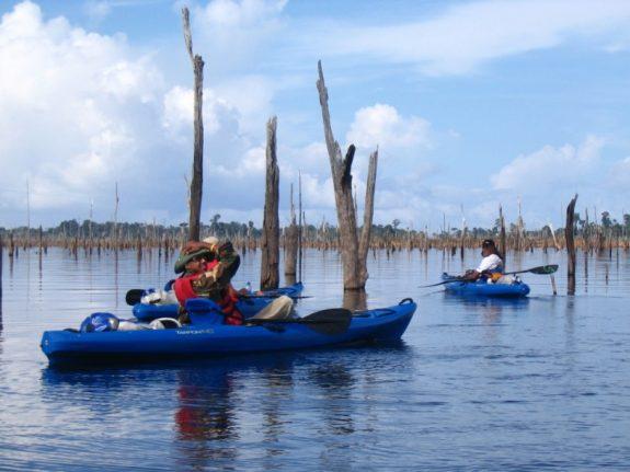 stuwmeer kanoen
