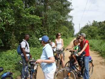 fietsen natuur suriname