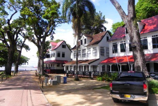 paramaribo suriname unesco erfgoed