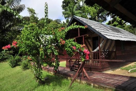 Danpaati River Lodge rivier cabin
