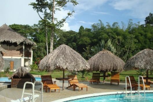 Hotel de plantage zwembad