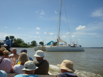 boot varen suriname