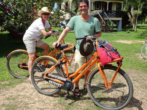 Plantage Frederiksdorp Suriname op de fiets