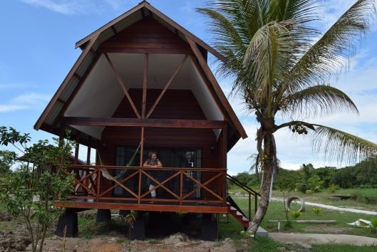 plantage Frederiksdorp Suriname nieuwe cabana
