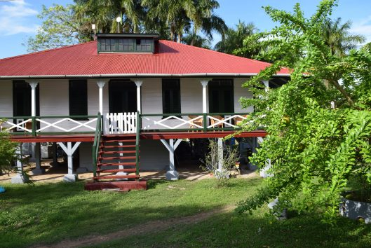 dokterswoning plantage Frederiksdorp Suriname