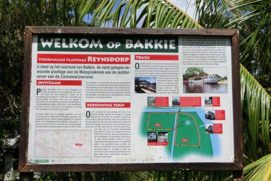 warappakreek plantage bakkie suriname
