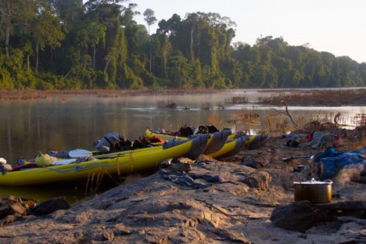kayser kano expeditie suriname