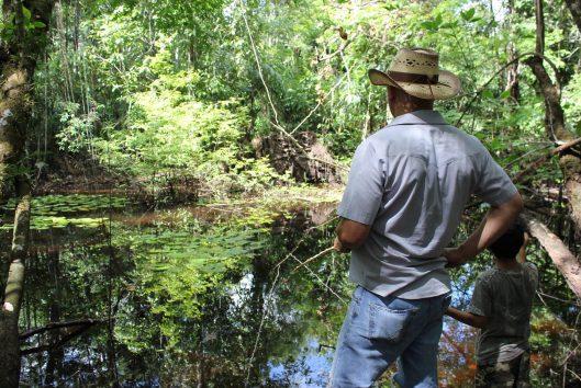 vissen maratakka rivier suriname