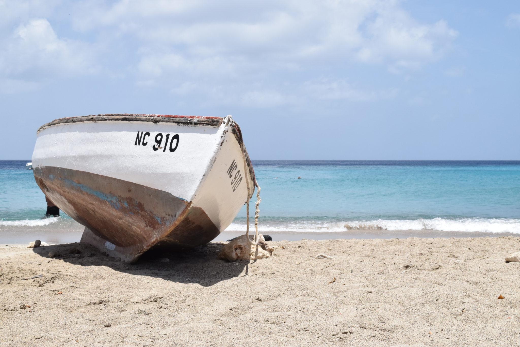 vissersboot curacao