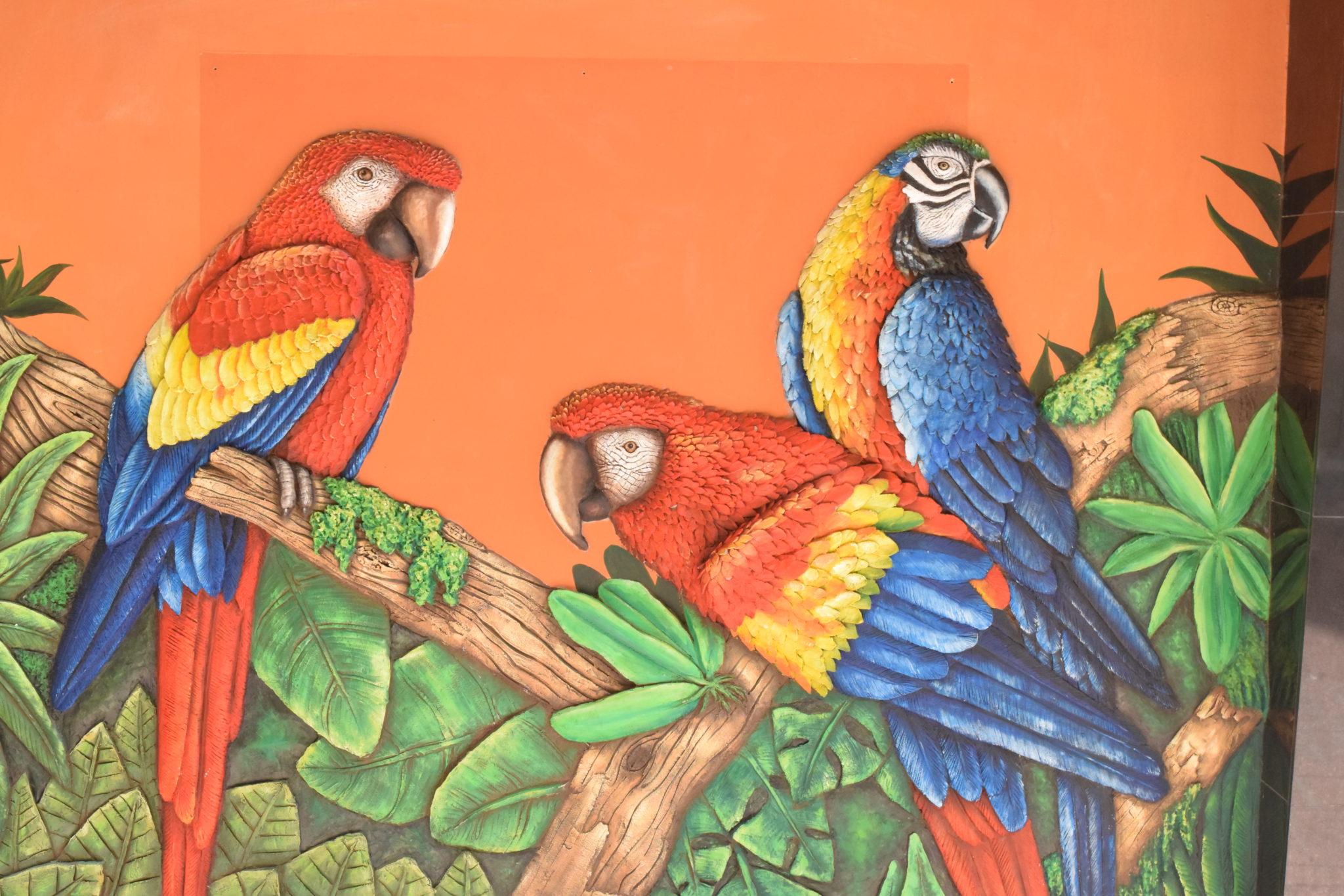 muurschildering willemstad curacao