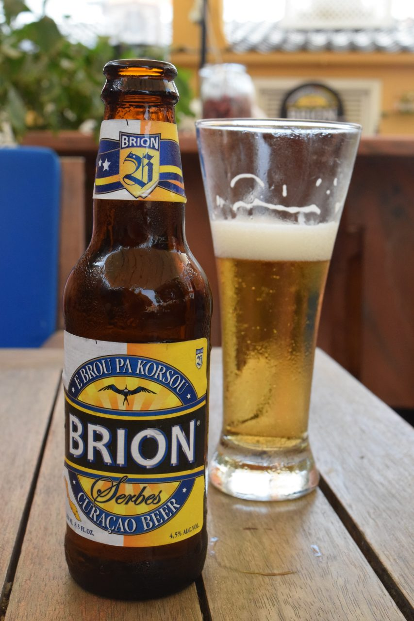 Brion Curacao beer