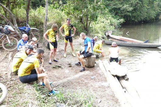 goldrush suriname fiets expeditie