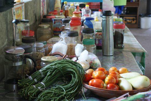 Leker eten op Palulu