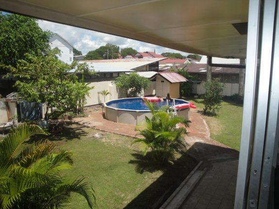 Downtown Oasis Paramaribo tuin zwembad