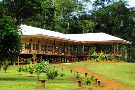 accommodatie inspiration point kabalebo suriname