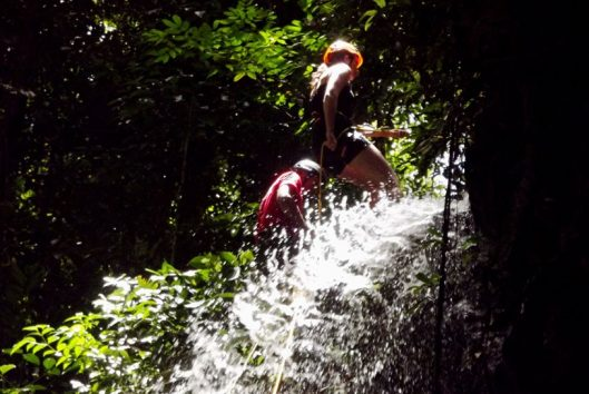 abseilen suriname jungle xperience