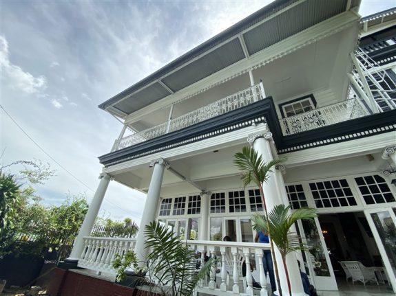 Paramaribo Suriname historische binnenstad