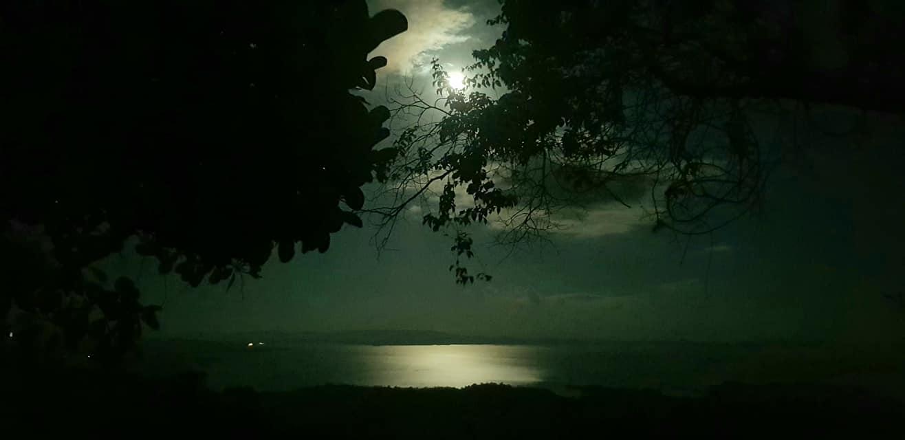 natuurpark Brownsberg full moon